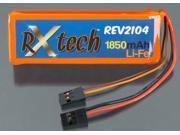 REV2104 LiFe 2S 6.6V 1850mAh Receiver Pack TRIC2104 TRINITY