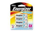 Eveready EA91BP4, Energizer AA Advanced Lithium Batteries, EVEEA91BP4, EVE EA91BP4