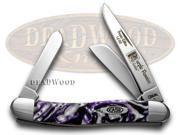 CASE XX Purple Passion 1/500 Stockman Pocket Knives