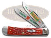 CASE XX Vietnam Red Bone Trapper 1/3000 Stainless Pocket Knife Knives