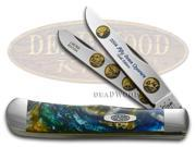 CASE XX 2004 State Quarter Gold Series Trapper 1/3000 Stainless Pocket Knife Set