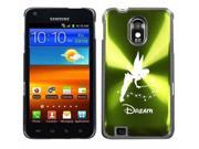 Green Samsung Galaxy S II Epic 4g Touch Aluminum Plated Hard Back Case Cover H110 Fairy Dream