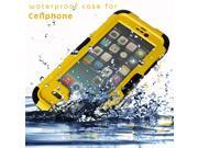 Waterproof Shockproof Dirtproof Durable Case Cover For iPhone6 4.7-inch YELLOW