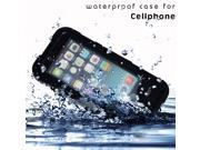 Waterproof Shockproof Dirtproof Durable Case Cover For iPhone6 4.7-inch BLACK
