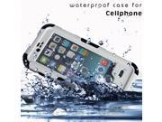 Waterproof Shockproof Dirtproof Durable Case Cover For iPhone6 4.7-inch WHITE
