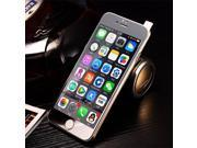 Ultra-thin 9H Design High Transparency Colorful Electroplate LCD Tempered Glass Screen Protector for iPhone 6-Silver