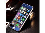 Ultra-thin 9H Design High Transparency Colorful Electroplate LCD Tempered Glass Screen Protector for iPhone 6P -Blue