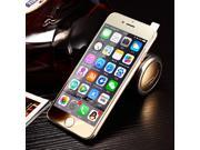 Ultra-thin 9H Design High Transparency Colorful Electroplate LCD Tempered Glass Screen Protector for iPhone 6P -Gold