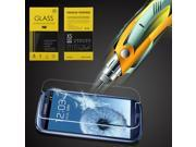 Ultra-thin 9H Design High Transparency Anti-Explosive LCD Tempered Glass Screen Protector for Samsung Galaxy S3 I9300