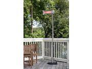 Fire Sense - 02117 - Fire Sense Stainless Steel Telescoping Offset Pole Mounted Infrared Patio Heater