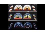 Ford F150 Exp/Nav w/Digital Odometer Gauge Faces Dancing Flame Glo '00-'03