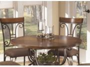 Signature Design by Ashley D313-15T Round Dining Table Top Plentywood Brown
