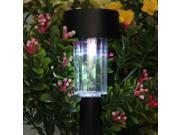 Solar LED Path Light Garden Landscape Light Plastic Auto On/Off Lamp Outdoor Garden Landscape Yard