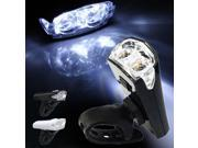 New Rechargeable USB Bike Bicycle Cycling LED Front Head Rear Light Headlight Headlamp 3 Modes Shipped US