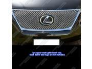 Fits 2010-2012 Lexus RX350 Stainless Steel Double Wire X Mesh Blitz Grille Grill