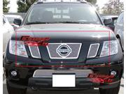 09-15 2014 2015 Nissan Frontier Stainless Mesh Grille Grill Insert