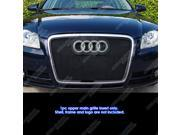 Fits 06-07 Audi A4 Stainless Steel Mesh Grille Insert