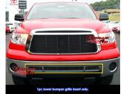 Fits 2010-2013 Toyota Tundra Black Billet Grille Grill Insert # T66719H