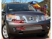 Fits 2008-2014 Nissan Armada Stainless Steel Mesh Grille Grill Insert W/Logoshow #N76507T