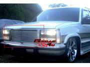 APS Polished Chrome Billet Grille Grill Insert #G85010A