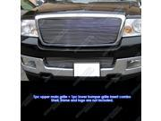 04-05 Ford F-150 Billet Grille Grill Combo Insert   # F87997A
