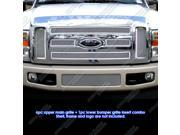 2008-2010 Ford F250/F350/F450 Stainless Steel Mesh Grille Grill Combo Insert