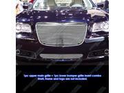 2011-2012 Chrysler 300/300C Phat Billet Grille Grill Combo Insert