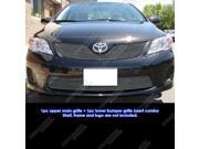 Fits 2011-2013 Toyota Corolla Billet Grille Grill Combo Insert # T81111A
