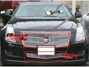 Fits 2008-2011 Cadillac CTS Billet Grille Grill Combo # A61011A