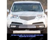 Fits 2011-2013 Acura MDX Stainless Steel Mesh Grille Grill Insert Combo # H71045T