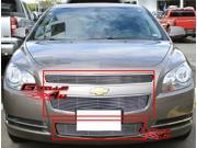 2008-2012 Chevy Malibu Billet Grille Grill Combo Insert    # C61015A