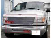 92-06 Ford Econoline Van Billet Grille Grill Combo Insert   # F87911A