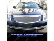 06-10 Cadillac DTS Stainless Mesh Grille Grill Combo Insert