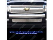 07-12 2011 Chevy Silverado 1500 Phat Billet Grille Grill Combo Insert