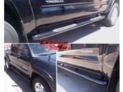 Fits 2005-2014 Toyota Tacoma Double Cab Black Side Step Nerf Bars