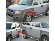 03-10 Honda Element (Excl Sc Model) S/S Side Step Nerf Step Side Bars Running Boards