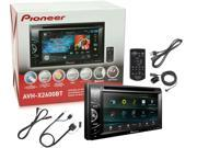 "Pioneer AVH-X2600BT 6.1"" DVD Receiver Bluetooth w/ CD-IU201S iPod Adapter New"