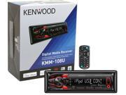 Kenwood KMM-108U Digital Media Receiver Aux USB iHeartRadio Pandora New KMM108U