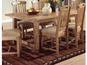 Sunny Designs Sedona Extension Table In Rustic Oak