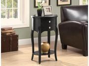 Monarch Specialties 3870 Accent Table in Antique Black