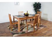 Sunny Designs Sedona Collection Five Piece Dining Set 1273RO