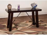 Sunny Designs Vineyard Sofa Console Table In Rustic Mahogany