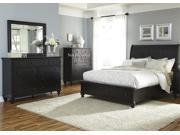 Liberty Hamilton III Storage Three Piece Bedroom Set In Black