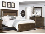 Liberty Twin Lakes Panel Three Piece Bedroom Set In Wire Brush Weathered Chestnut