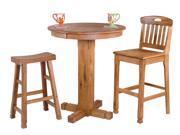 Sunny Designs Sedona Collection Three Piece Dining Set 1170RO
