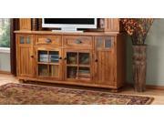 Sunny Designs 3322RO-TC Sedona TV Console In Rustic Oak