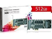 Mach Xtreme MLC PCI-Express 2.0 x2 MX-EXPRESS series SSD  512GB Read 850MB/s  Write 800MB/s