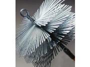 "8"" X 12"" Flat Wire Brush, 3/8"" Fitting"