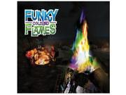 Winlow Products 281200 Funky Colored Flames - Pack of 3