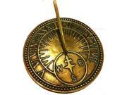 Rome 8 Inch Brass Roman Sundial